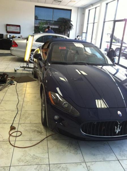 Maserati Dent Repair