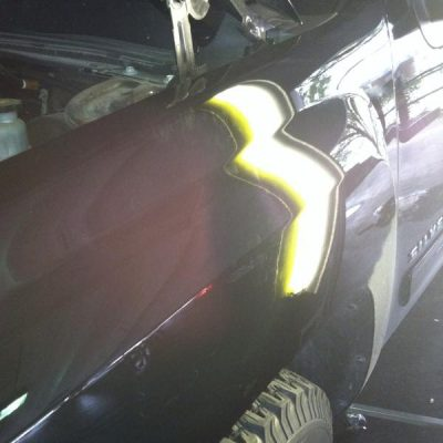 Paintless Dent Repair Before and After